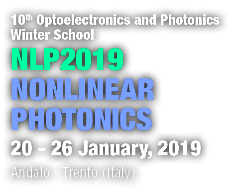 10th Optoelectronics and Photonics Winter School NLP2019